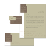 Wellness Spa Resort Stationery Kits Template