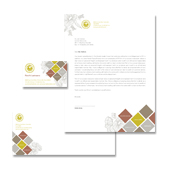 Modern Landscaping Stationery Kits Template