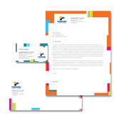College & University Stationery Kits Template