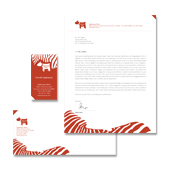 Veterinary Clinic Stationery Kits Template