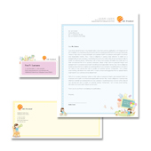 Preschool Stationery Kits Template