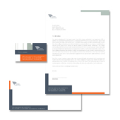 Corporate Stationery Kits Template