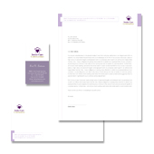 Elder Care & Nursing Home Stationery Kits Template