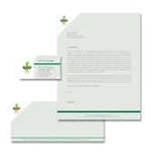 Golf Course & Instruction Stationery Kits Template