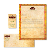 Mexican Restaurant Stationery Kits Template