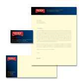 Bar & Grill Restaurant Stationery Kits Template