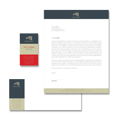 Accounting Services Stationery Kits Template