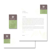 Spa Beauty Centre Stationery Kits Template