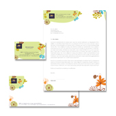 Spa & Beauty Salon Stationery Kits Template