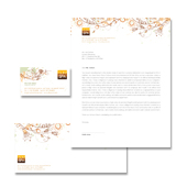 Health & Beauty Spa Stationery Kits Template