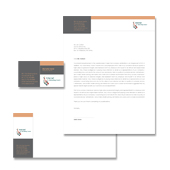 Internet Coaching Program Stationery Kits Template