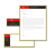 Interior Designer Stationery Kits Template