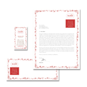 Beauty Salon Stationery Kits Template