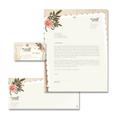 Wedding Planner Stationery Kits Template