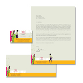 Fashion Design School Stationery Kits Template