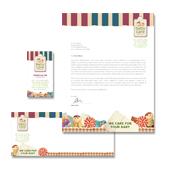 Babysitting Stationery Kits Template