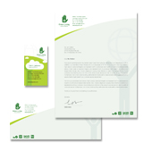 Recycling Stationery Kits Template