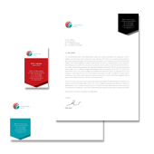 Financial Planning Stationery Kits Template