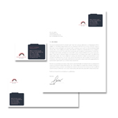 Secretarial Services Stationery Kits Template