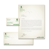 Environmental Groups Stationery Kits Template