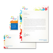 Church Youth Ministry Stationery Kits Template