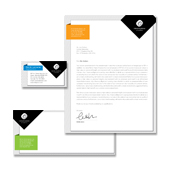 Interior & Exterior Studio Stationery Kits Template