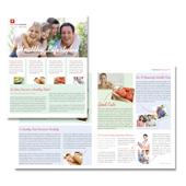 Healthcare Management Newsletter Template