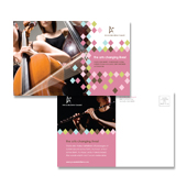 Arts Council & Education Postcard Template