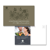 Gift & Florist Shop Postcard Template
