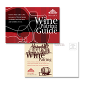 Vineyard & Winery Postcard Template