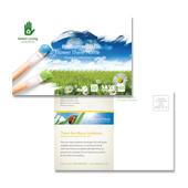 Environmental Groups Postcard Template