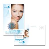 Skincare Center Postcard Template