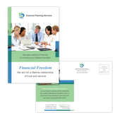 Financial Planning & Consulting Postcard Template