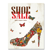 Shoes Sale Poster Template