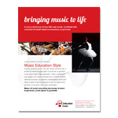 Arts Education Center Poster Template