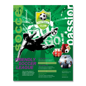 Soccer Club Poster Template