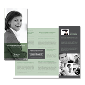 Professional Investment Services Tri Fold Brochure Template