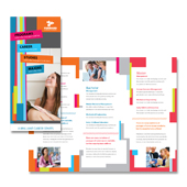 College & University Tri Fold Brochure Template