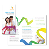 Pregnancy Options Counseling Tri Fold Brochure Template