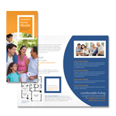 Apartment & Condominium Tri Fold Brochure Template