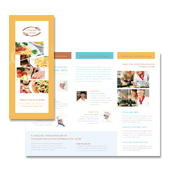 Cooking College Tri Fold Brochure Template