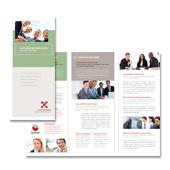 Business Management Tri Fold Brochure Template