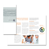 Strategic Management Tri Fold Brochure Template