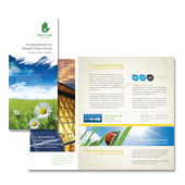 Environmental Groups Tri Fold Brochure Template