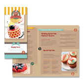 Cakery Tri Fold Brochure Template