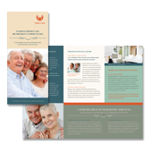 Senior Housing Tri Fold Brochure Template