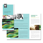 Christian Community Tri Fold Brochure Template