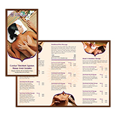 Thai Spa Massage Tri Fold Brochure Template