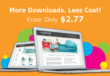 More downloads from only $129